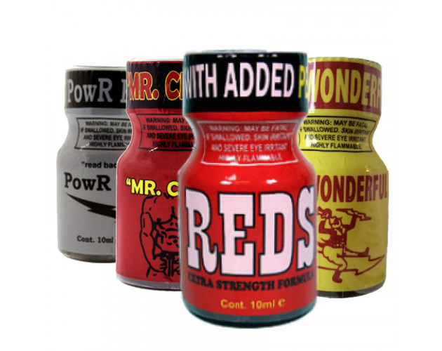 4 PACK 10ml Of: Reds, Mr....