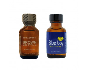 Brown Bottle & Blue Boy 30ml