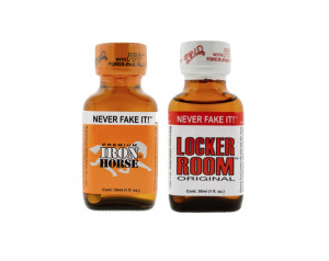 2-PACK 30ml of: Iron Horse & Locker Room