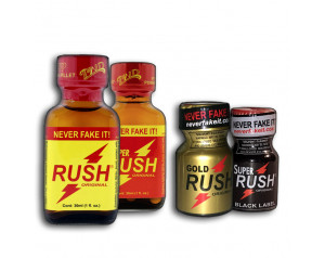 PWD Rush COMBO 2x30ml + 2x10ml