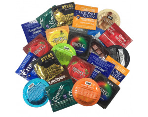 5pk Assorted Condoms