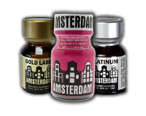 3-PACK Amsterdam 10ml of:...