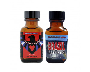2-PACK 30ml Of: Leather...