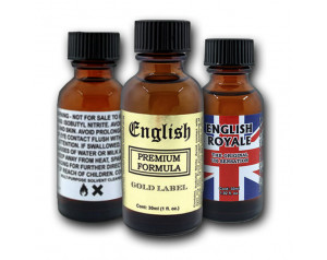 3-PACK 30ml of: English...